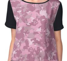 Pink-oh-Flage Chiffon Top