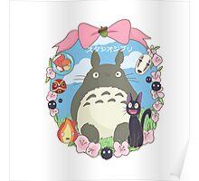 Studio Ghibli Design Poster