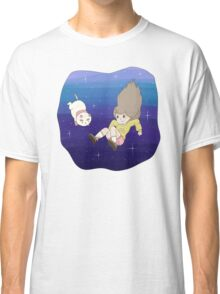 Bee and PuppyCat Falling Print Classic T-Shirt