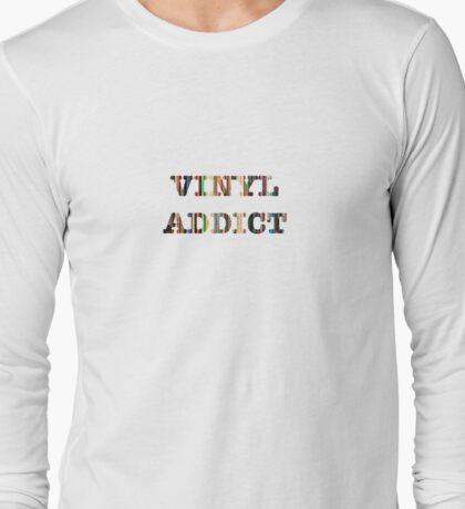 Vinyl Addict Long Sleeve T-Shirt