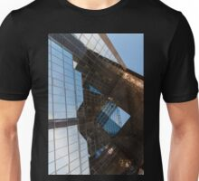 Glass, Copper and Steel Geometry - Fabulous Modern Architecture in London, UK - Vertical Unisex T-Shirt