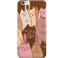 Different funny cat design iPhone Case/Skin