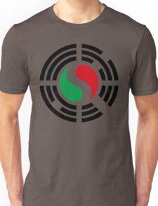 Korean Italian Multinational Patriot Flag Series Unisex T-Shirt