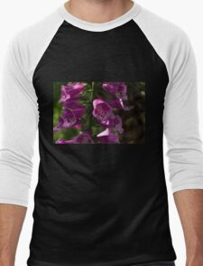 The Splendor of Foxgloves Men's Baseball ¾ T-Shirt