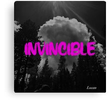 invincible PINK Canvas Print