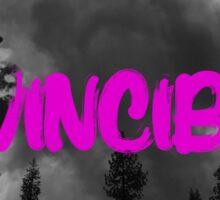 invincible PINK Sticker