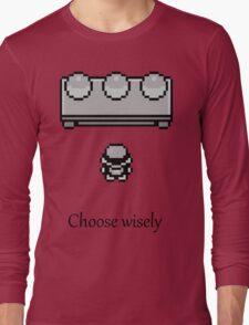 Pokemon - The choice Long Sleeve T-Shirt