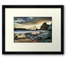 Portio Beach Framed Print