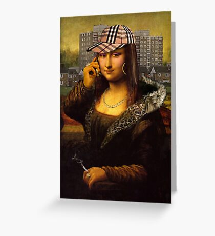 Chava Lisa Greeting Card