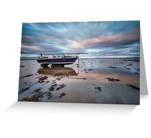 Beached At Port Carlisle Greeting Card