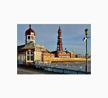 View of Blackpool Tower on North Pier T-Shirt