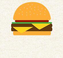 Burger Zipped Hoodie