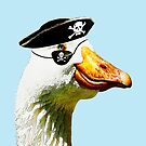 Pirate Goose by Andrew Bret Wallis