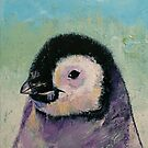 Penguin Chick by Michael Creese