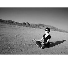 Mojave Meditation Photographic Print