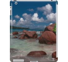 Seychelles Beach Rock Formation iPad Case/Skin
