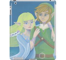 Link and Zelda ~ Skyward Sword iPad Case/Skin