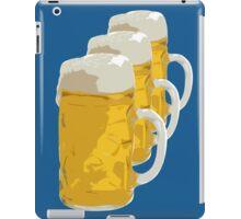 3 mugs of beer iPad Case/Skin