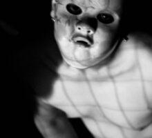 Child(ish) Mask Horror Photography  Sticker
