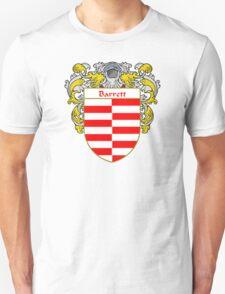 Barrett Coat of Arms/ Barrett Family Crest Unisex T-Shirt