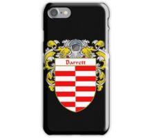Barrett Coat of Arms/ Barrett Family Crest iPhone Case/Skin