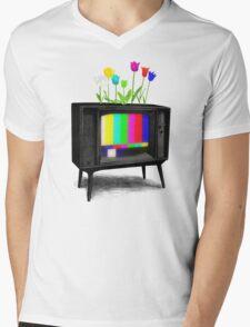 Test Garden Mens V-Neck T-Shirt