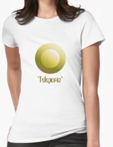 Marsh Badge - Teleport Womens Fitted T-Shirt