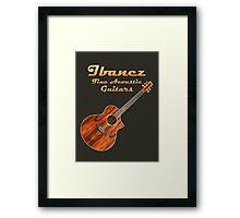 Ibanez Acoustic Guitars Framed Print