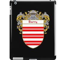Barry Coat of Arms/ Barry Family Crest iPad Case/Skin