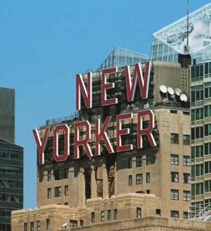 New Yorker sign Sticker