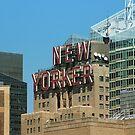 New Yorker sign by Jonesyinc