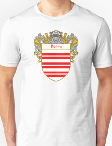 Berry Coat of Arms/ Berry Family Crest Unisex T-Shirt