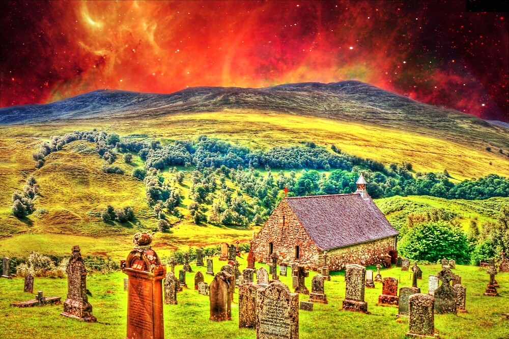 Church on the approach to Mount Doom by Stephen Frost