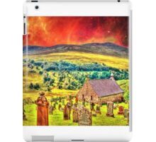Church on the approach to Mount Doom iPad Case/Skin