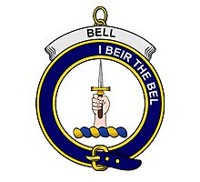 Bell Clan Badge Photographic Print