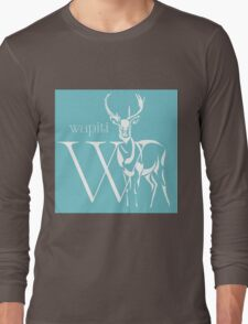 ABC-Book French Elk Long Sleeve T-Shirt