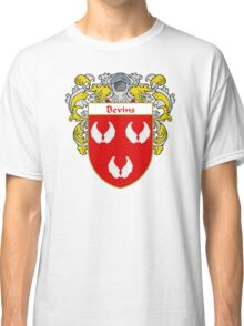 Bevins Coat of Arms/ Bevins Family Crest Classic T-Shirt