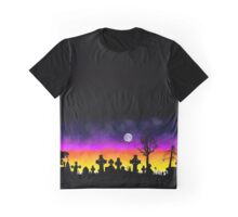 Sunset Over Necropolis Graphic T-Shirt