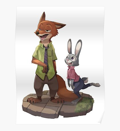 Zootopia - Nick and Judy Poster