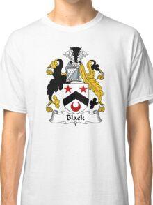 Black Coat of Arms/ Black Family Crest Classic T-Shirt
