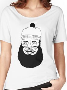 Crazy Bearded Hobo Women's Relaxed Fit T-Shirt