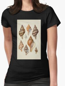 Thesaurus conchyliorum Monographs of genera of shells George Brettingham Sowerby 1887 V1-V5 192 Womens Fitted T-Shirt