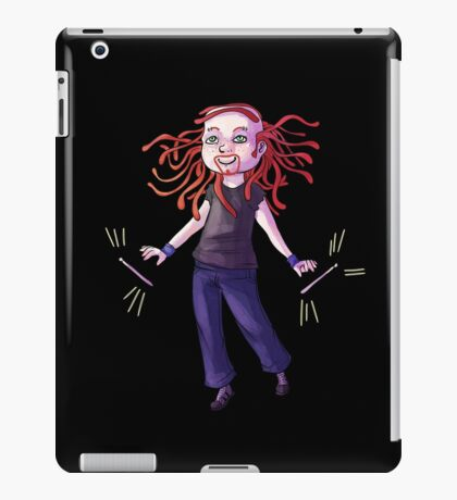 Pickles the Drummer Chibi iPad Case/Skin