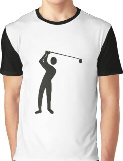 Golf player golfing Graphic T-Shirt