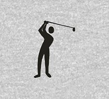 Golf player golfing Unisex T-Shirt
