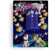 Doctor Whooves Canvas Print