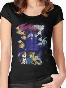 Doctor Whooves Women's Fitted Scoop T-Shirt