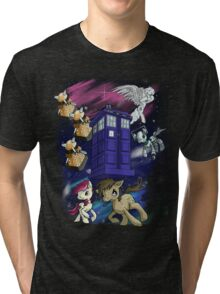Doctor Whooves Tri-blend T-Shirt