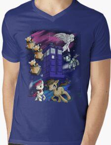 Doctor Whooves Mens V-Neck T-Shirt