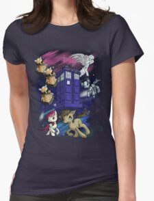 Doctor Whooves Womens T-Shirt